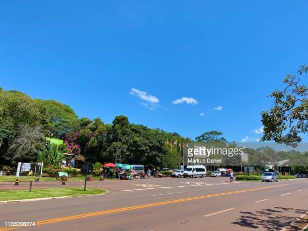 "main entrance to parque das aves in foz do iguacu, brazil - ""markus daniel"" stock pictures, royalty-free photos & images"