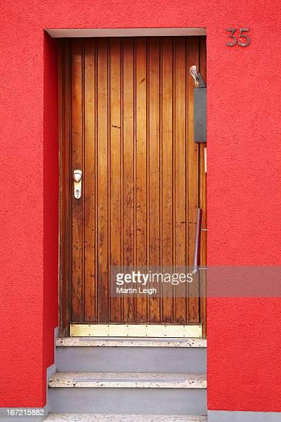 main entrance wooden door in Germany