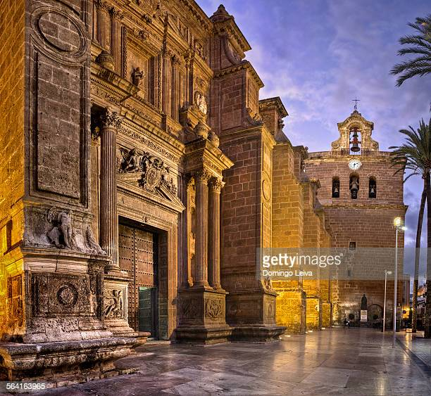 Main facade of the cathedral of Almería