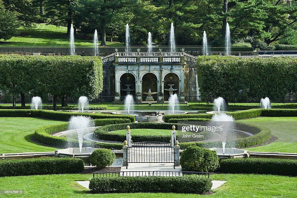 Main Fountain Garden, Longwood Gardens.