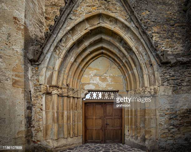 main front door cistercian monastery located