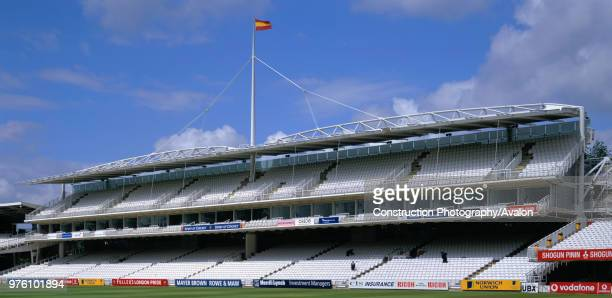 Main Grandstand, Lords Cricket Ground, London, UK.