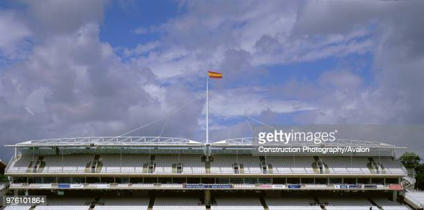 Main Grandstand, Lords Cricket Ground, London, United Kingdom.