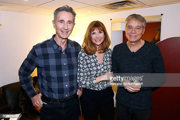 Main Guest of the show Actor and Sponsor of 'Fondation Recherche Medicale' Thierry Lhermitte actors Florence Pernel and Jose paul attend the...