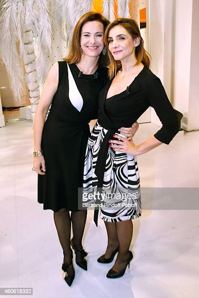 Main guest of the show actress Carole Bouquet presents the movie 'Une heure de tranquilite' and Actress Clotilde Courau Princess of Savoy presents...