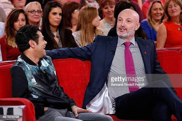 Main guest of the show Humorist Jamel Debbouze presents the movie 'Pourquoi j'ai pas mange mon pere ' wich he directed and played in and Former...