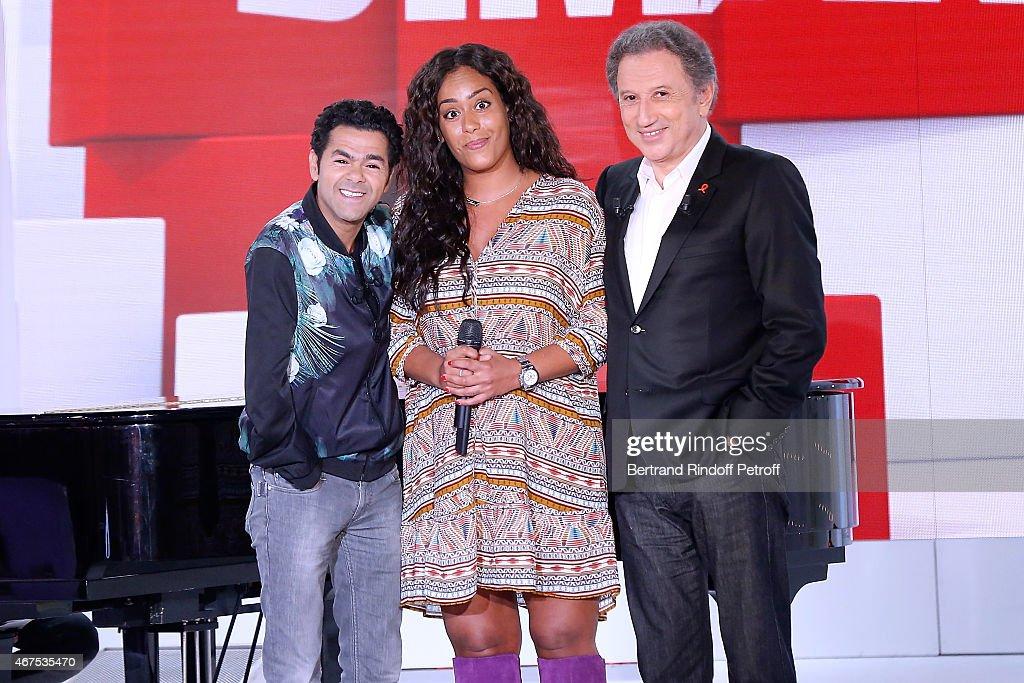 'Vivement Dimanche' French TV Show At Pavillon Gabriel In Paris