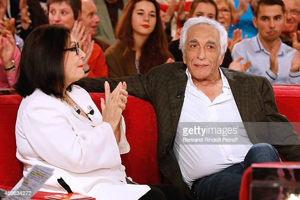 """Main guest of the show, singer Nana Mouskouri presents her """"Happy birthday tour"""" and actor Gerard Darmon presents the first season of the TV series..."""