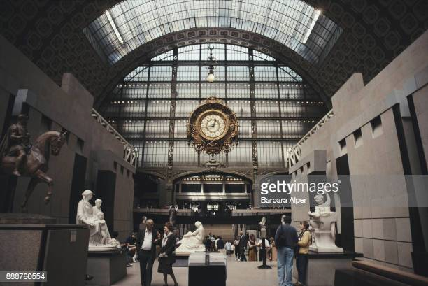 Main Hall of the Musée d'Orsay, Paris, France, June 1991.