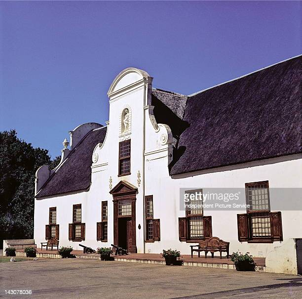 Main House of the Groot Constantia Winery Cape Town South Africa Groot Constantia was established in 1685 by the Governor of the Cape of Good Hope...