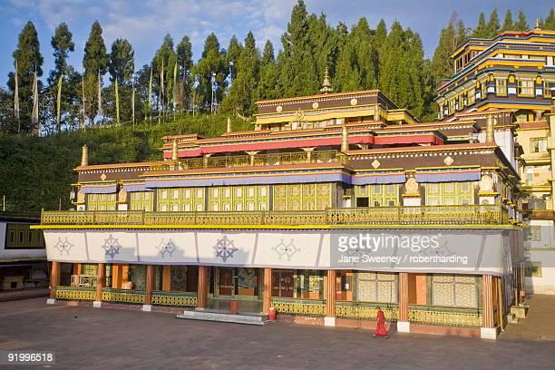 Main monastery building, Rumtek Gompa Complex, Gangtok, Sikkim, India, Asia