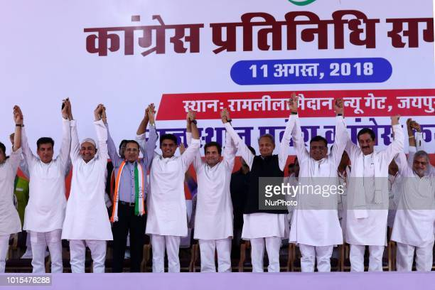 Main Opposition party Indian National Congress Chairperson Rahul Gandhi Former Rajasthan Chief Minister Ashok Ghelot Rajasthan Congress President...