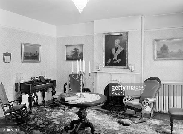 Main Parlor. Susan B. Anthony House, 17 Madison Street, Rochester, Monroe County, NY.