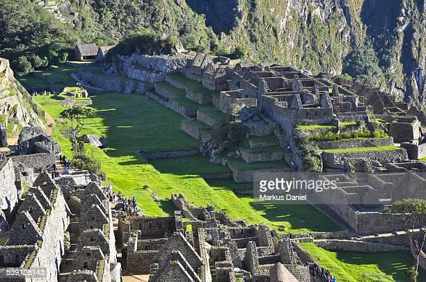 Main Plaza in Machu Picchu, Peru