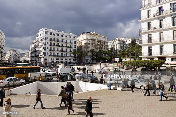 Main post office square in Algiers