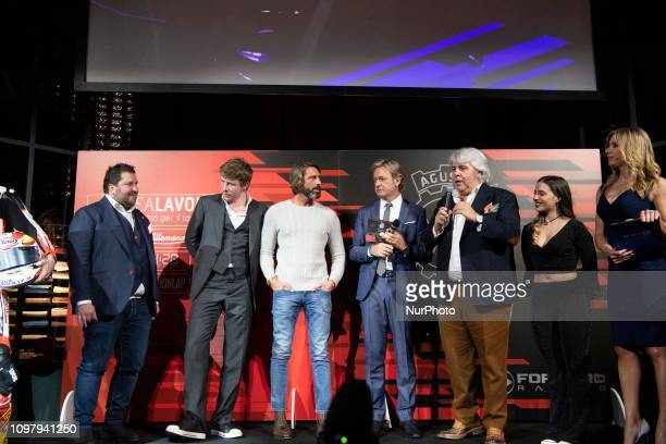 Main Sponsor MV AGUSTA amp Forward Racing Team presentation of the official racing team and drivers Stefano Manzi and Dominique Aegerter Monday 11...