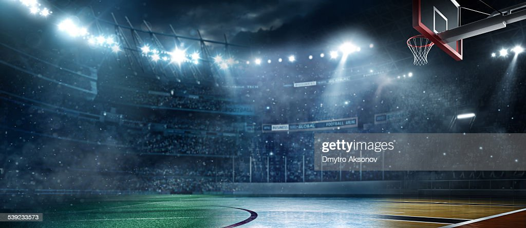 Main sports stadiums : Stock Photo