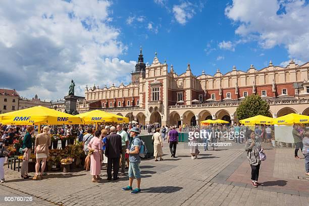 Main Square in Krakow, Poland