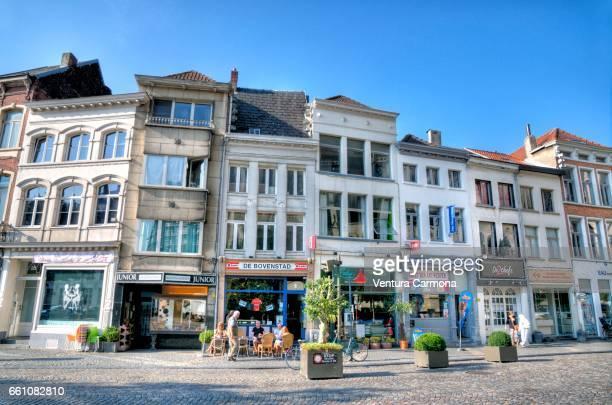 Main Square in Mechelen - Belgium