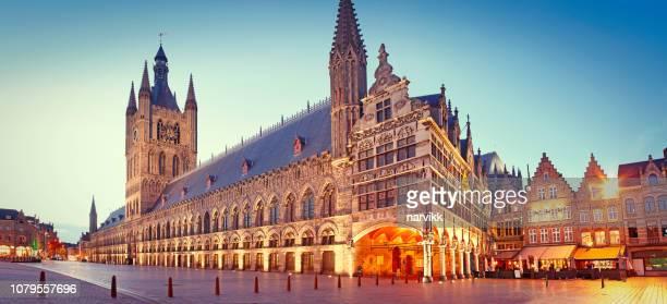 Main square in Ypres (Grote Markt)