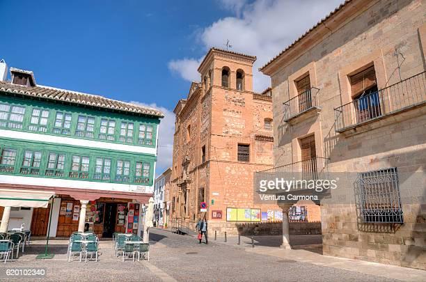 Main Square (Plaza Mayor) of Almagro (Castilla-La Mancha, Spain)