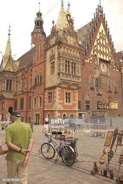 Main square-Breslau, Polen