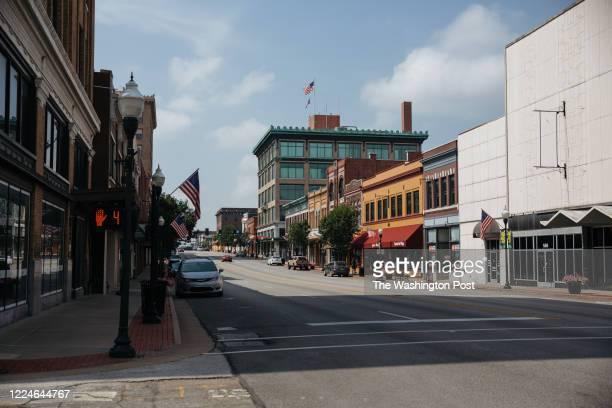 Main St. In Joplin, Missouri on July 2, 2020. .