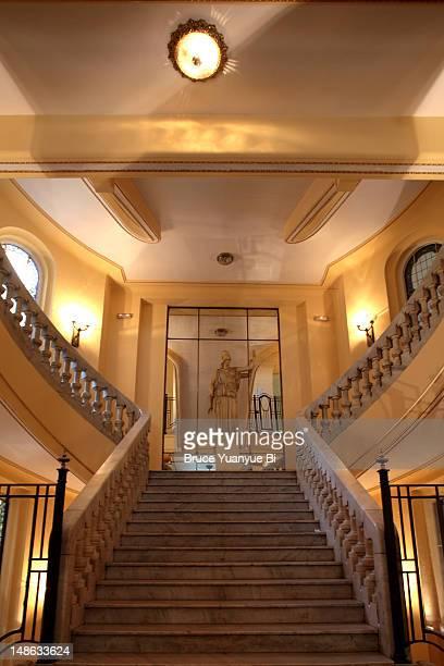 Main staircase of Circulo de Bellas Artes-One.