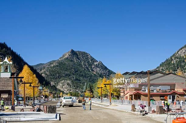 Main Street Construction in Frisco, Colorado