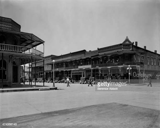 Main Street Greenup Illinois circa 1933