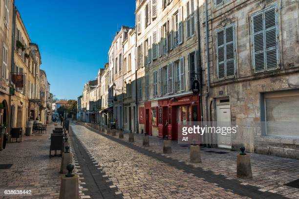 Main street in  La Rochelle - France