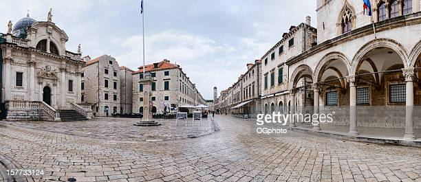 Main street in the old town of Dubrovnik, Croatia
