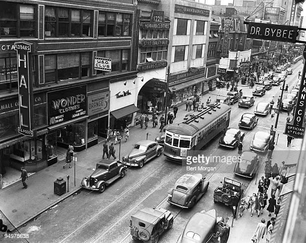 Main Street Norfolk Virginia March 20 1943