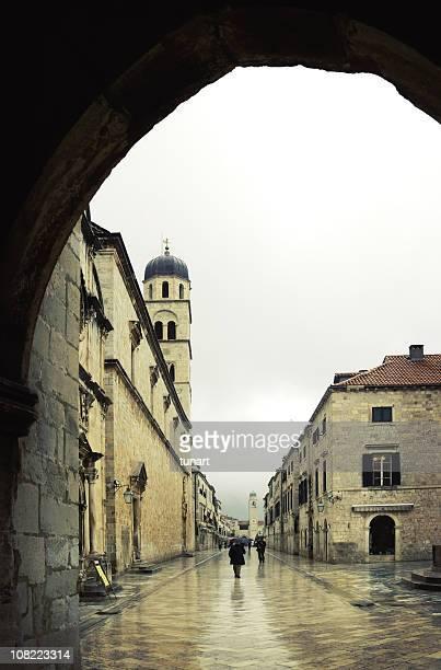 Main Street of Dubrovnik, Croatia