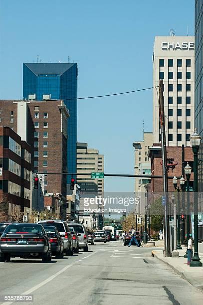 Main street of Lexington Kentucky