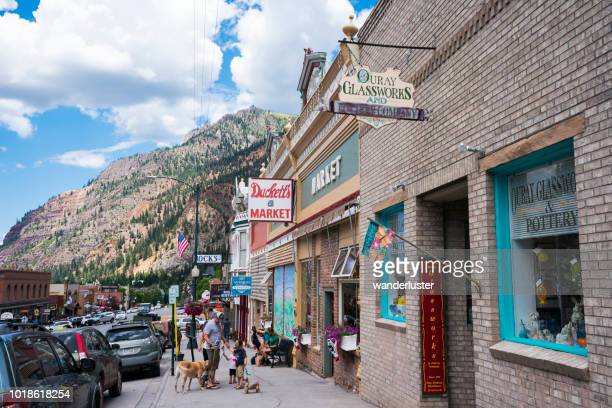 Main street Ouray, Colorado