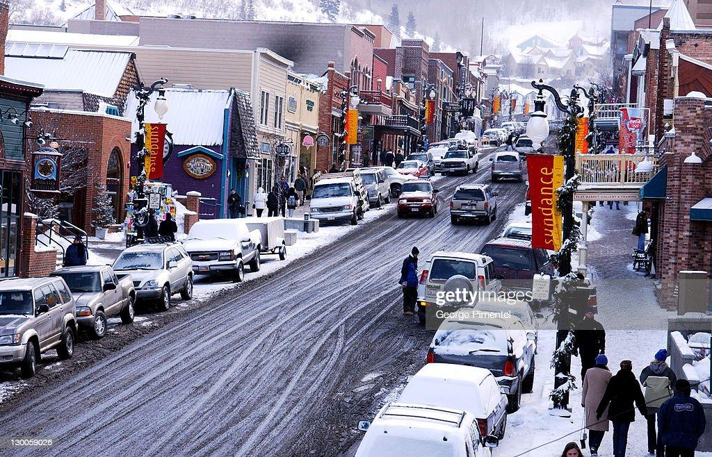 2002 Sundance Film Festival - Park City in the Snow : News Photo