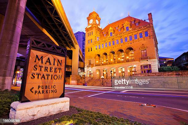 main street station in richmond, virginia - richmond virginia stock pictures, royalty-free photos & images