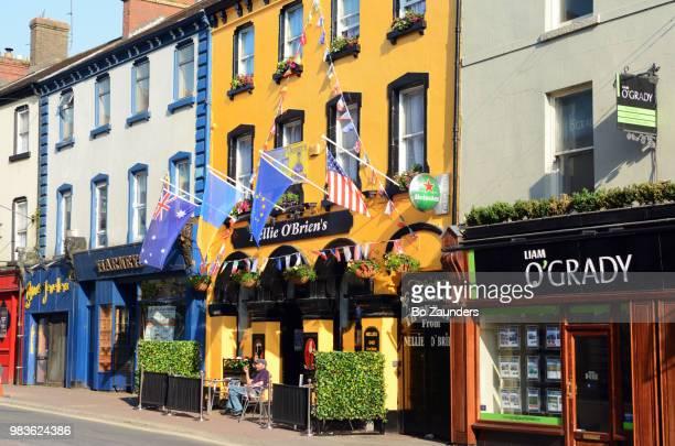 main street, tipperary, west cork, ireland - ティッペラリー州 ストックフォトと画像
