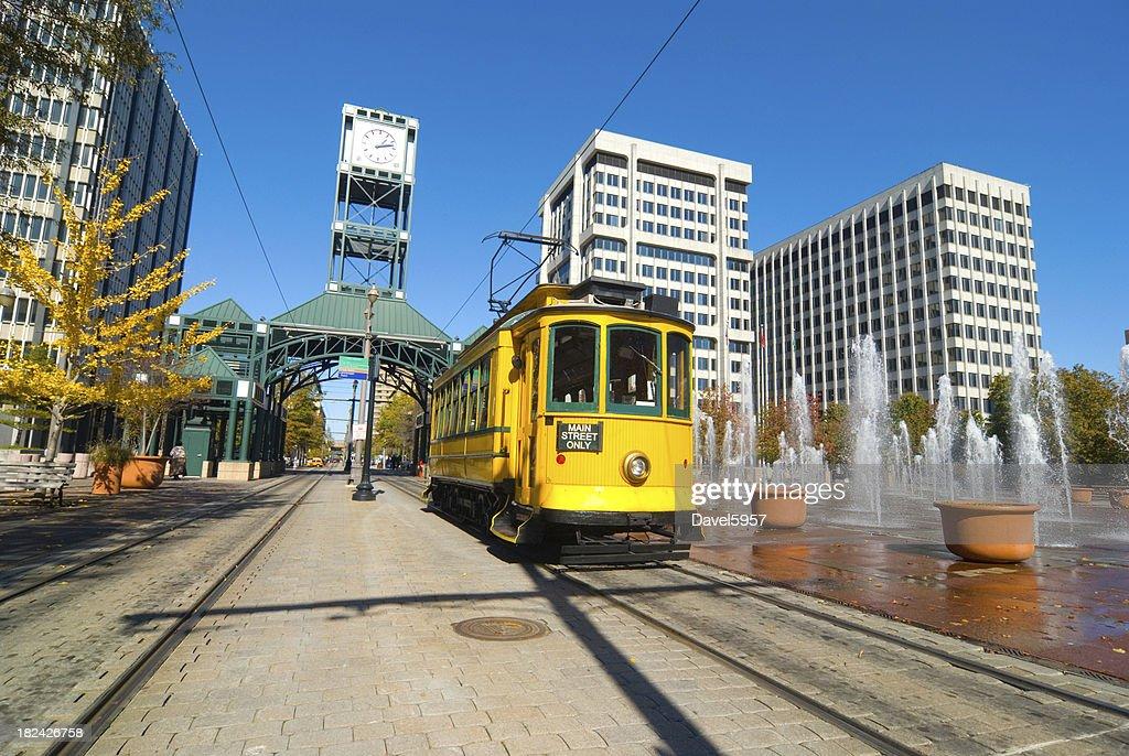 Main Street Trolley in Memphis, TN : Stock Photo