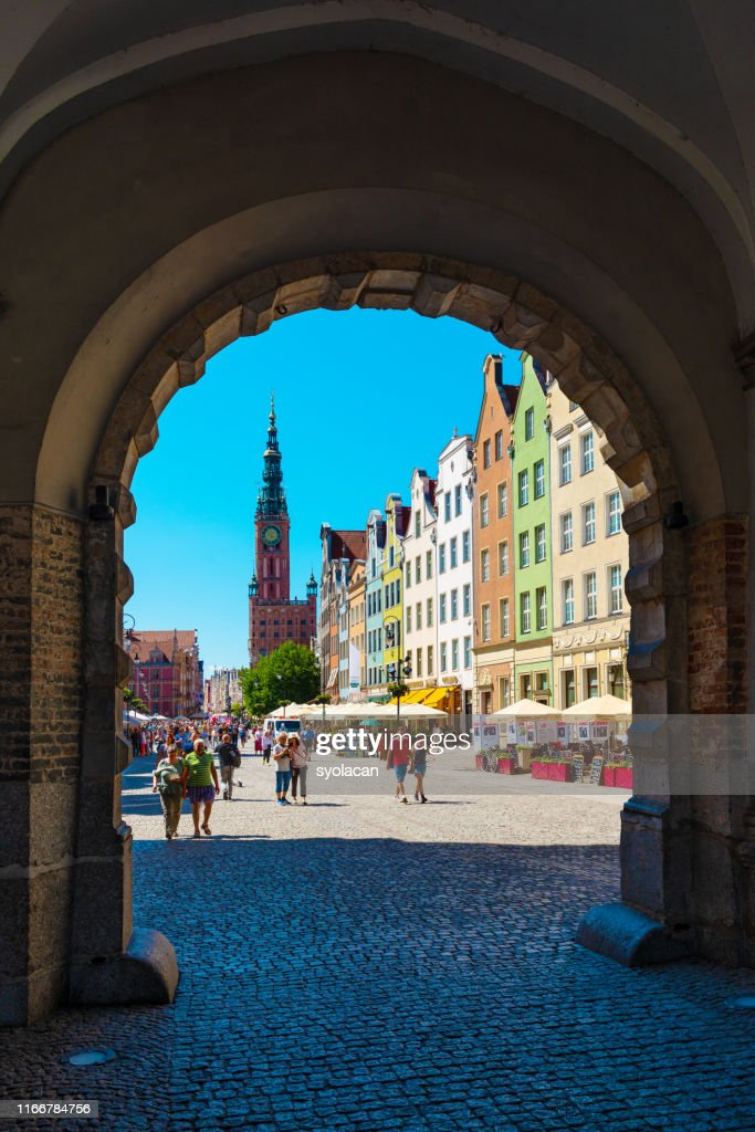 Main town hall of Gdansk : Stock Photo