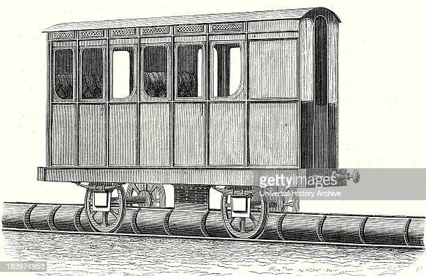 Main Wagon Of The Atmospheric Railway Of SaintGermain Taken Out Of Service In 1859