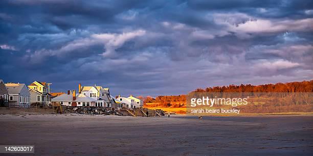 Maine beach houses