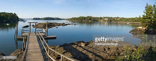 メーヌ海岸地域 - ブースベイハーバー ストックフォトと画像
