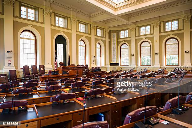 usa, maine, interior - house of representatives stock pictures, royalty-free photos & images