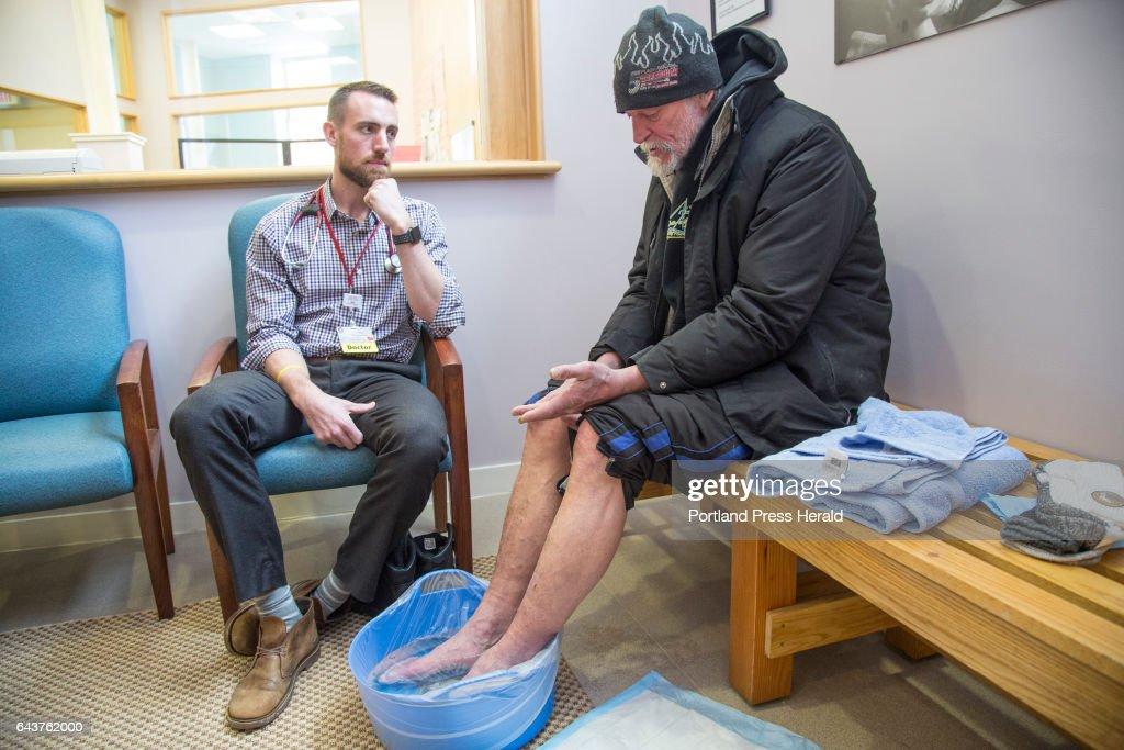 Homeless clinic : News Photo