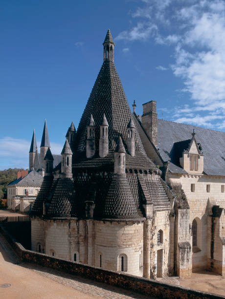 Fontevraud abbey, in Roman architectural style Pictures | Getty Images