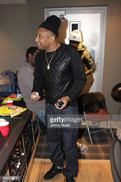 Maino attends a Private KOB Listening Party at KMA Studios on January 30 2014