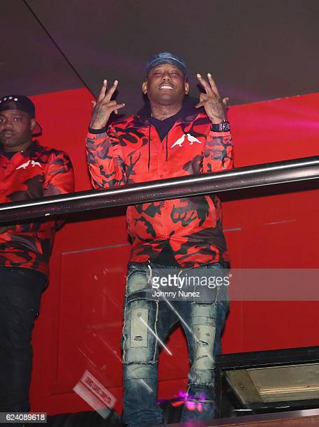 Maino attends Phresher And Funk Master Flex In Concert at Stage 48 on November 17 2016 in New York City
