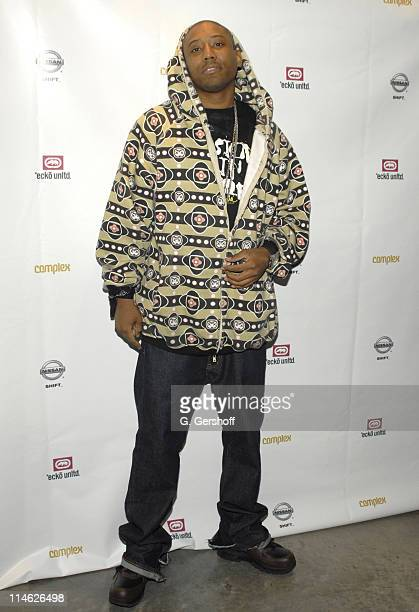Maino during Nissan and Marc Ecko Unveil Collaboration in Customized Vehicles and AutomotiveInspired Clothing at Splashlight Studios in New York New...